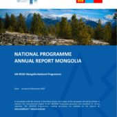 INFO BRIEF: FIRE MANAGEMENT IN MONGOLIA:  A CHANGING CLIMATE